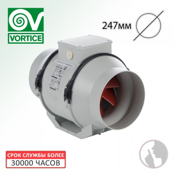 Вентилятор канальный Vortice Lineo 250 Q V0