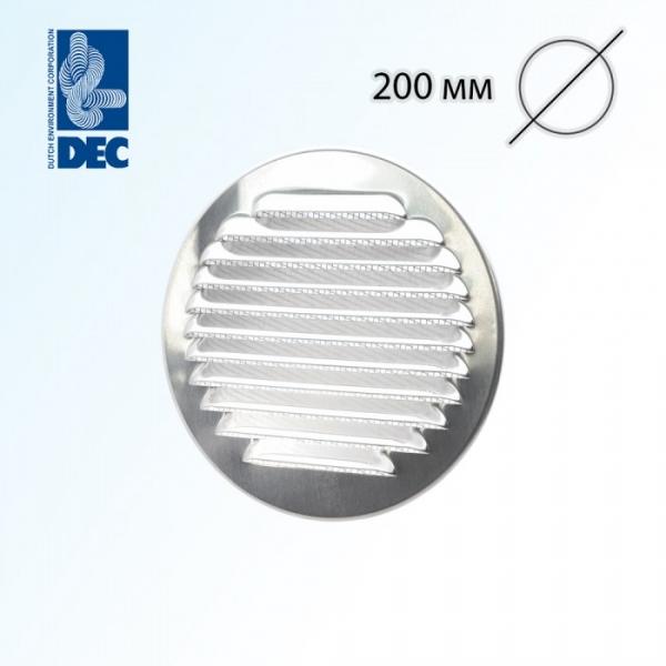 Решетка алюминиевая DEC DWRA200S