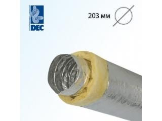 Воздуховод DEC Isodec 25 203/10