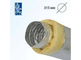 Воздуховод DEC Isodec 25 315/10
